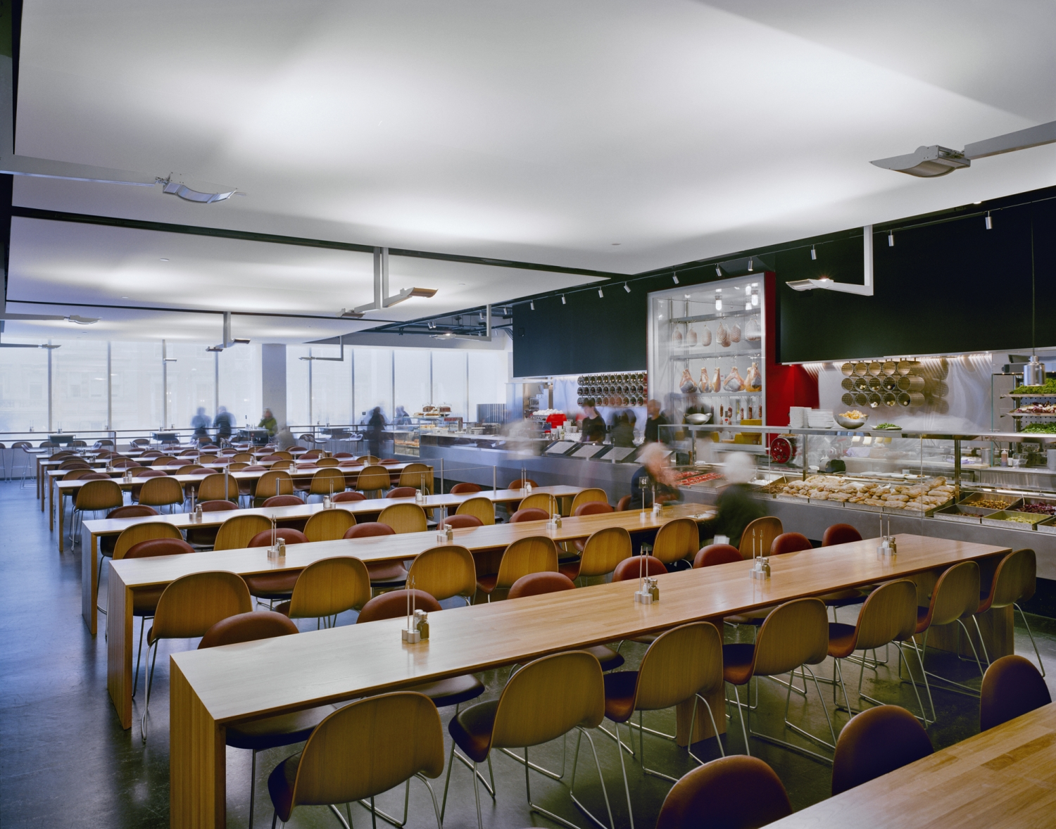 cafe 2 at moma bentel bentel architects planners a i a