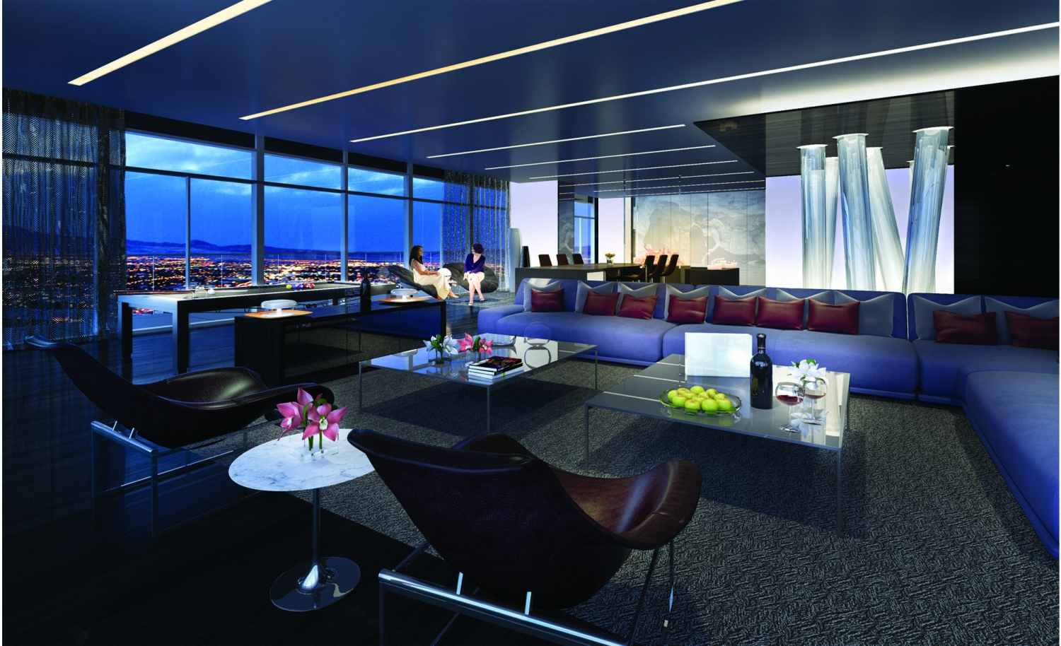 The Cosmopolitan, Penthouse Suites