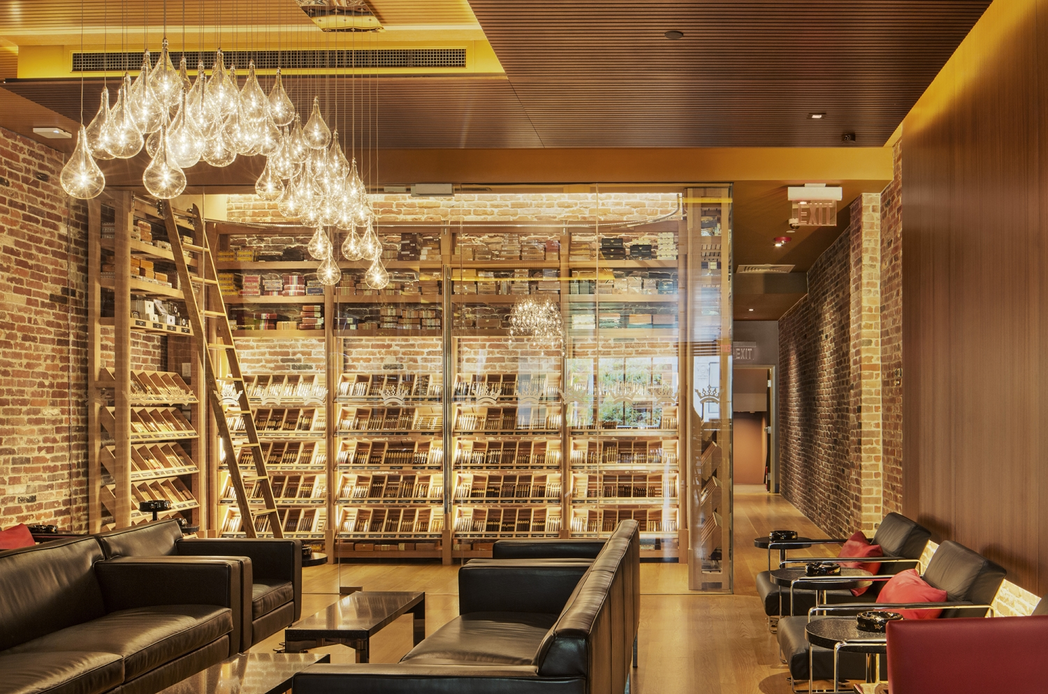 Ashton Cigar Bar Bentel amp ArchitectsPlanners AIA