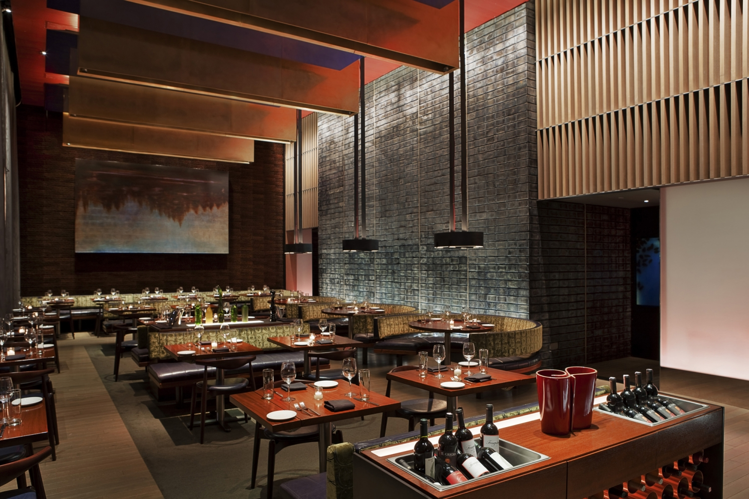 Zylo at the w hotel bentel bentel architects planners for Asian cuisine hoboken nj