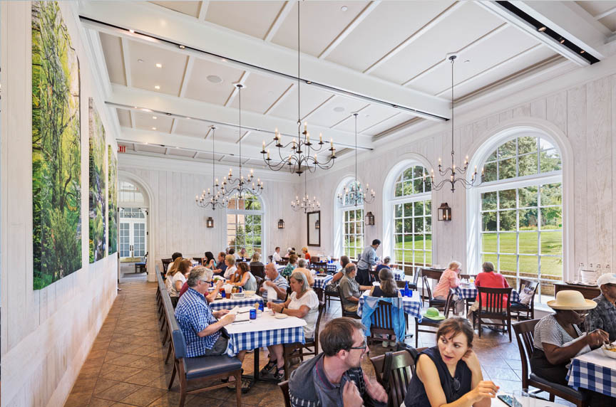 Hudson Garden Grill At Nybg Bentel Bentel Architects Planners A I A