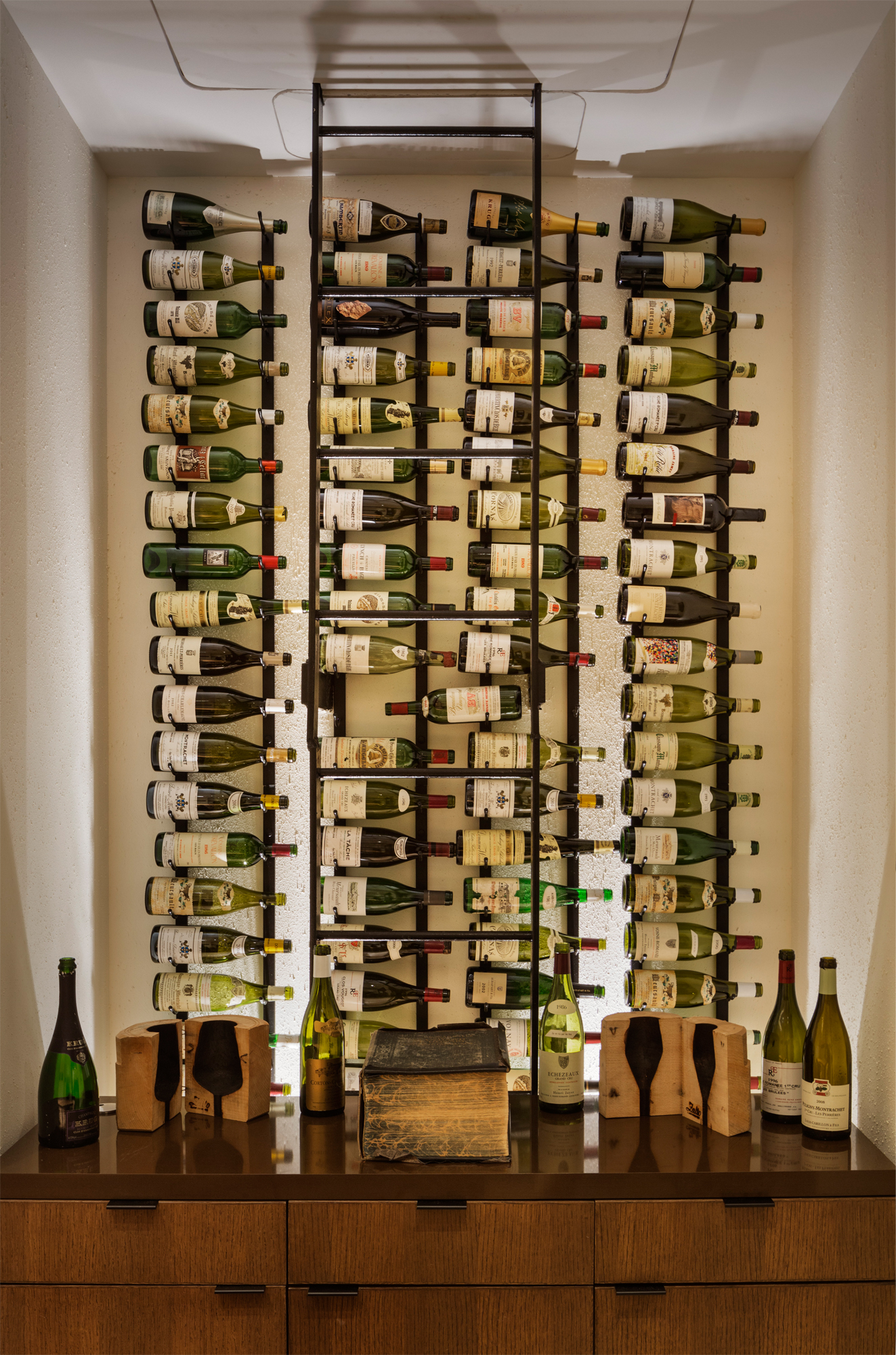 Aldo Sohm Wine Bar | Bentel & Bentel Architects/Planners A.I.A.